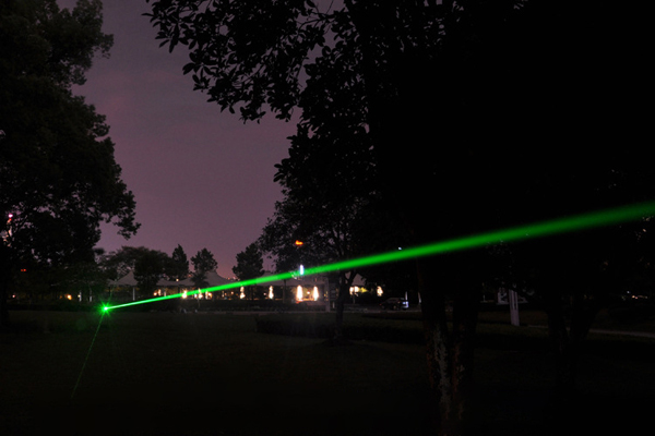 Light Of Green Laser Pointer