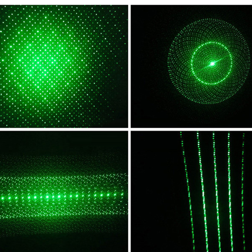 Green Laser Pointer Patterns