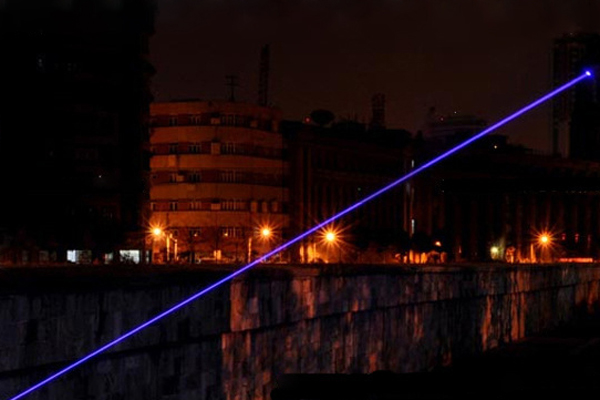 Laser Purple Beam