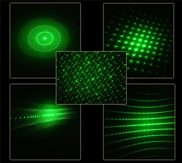 Green Beam Laser Shape