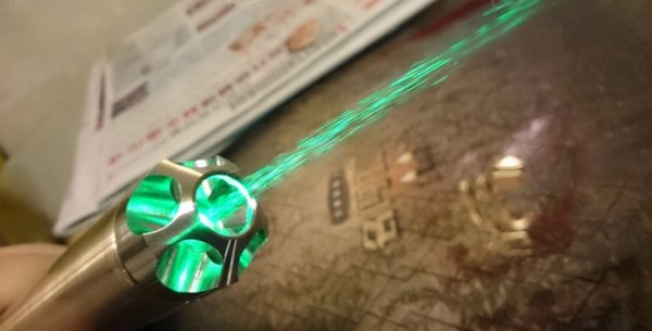 Green Beam Light Pointer