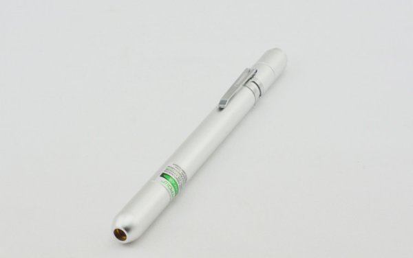 Silver Color Laser Pen
