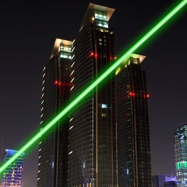 500mW Thick Green Light Laser Pointer
