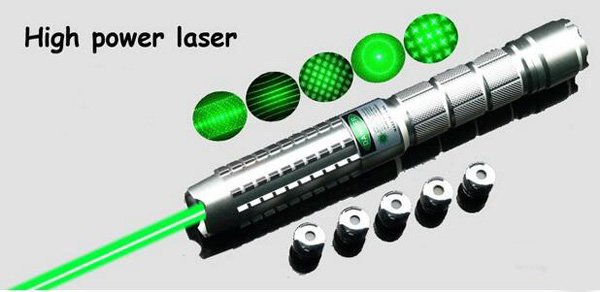 High Power 5 in 1 Laser Pointer