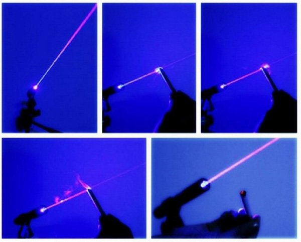 1000mW Blue Laser Beam
