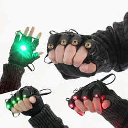 Dance Laser Gloves
