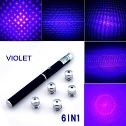 50mW Purple Laser Pen